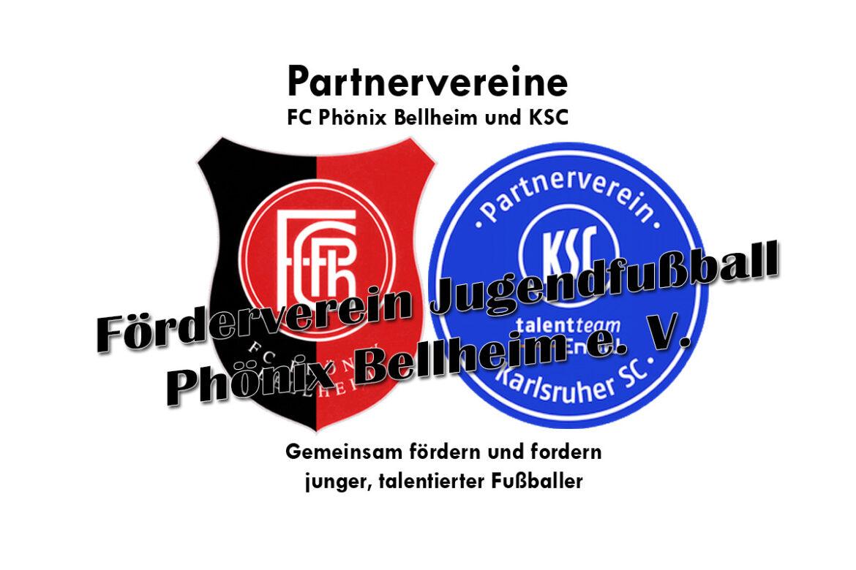 Die Jugendabteilung des FC Phönix Bellheim ist Partnerverein des KSC!