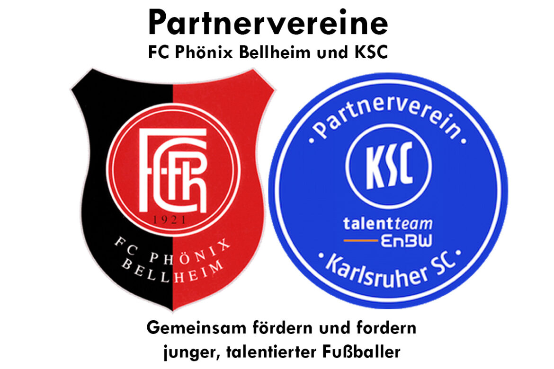 Jugendabteilung Phönix Bellheim Partnerverein des KSC!